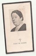 Bidprentje Helena HITZ Echtg. Michaël Balmaekers Geboren Maastricht 1894 Er Overleden  1945 - Images Religieuses