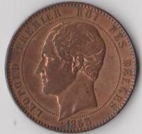 LEOPOLD PREMIER ROI DES BELGES 1853:L. L. PH. M. V. DUC DE BRABANT M. H. A. DUCHESSE DE BRABANT LEOP. WIENER 2 - 1831-1865: Leopold I