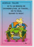 GREG Ed Triade Toulouse N°54 - Bande Dessinée Humour Achille Talon Voiture  - CPM 10,5x15 BE 1995 Neuve - Illustrateurs & Photographes