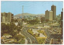 °°° 13741 - PERU  - PASEO DE LA REPUBLICA Y PLAZA GRAU - 1990 °°° - Perù