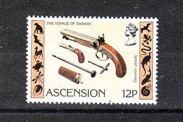 Ascension -  1982. Pistola Dell' 800. 800s Pistol. MNH - Militaria