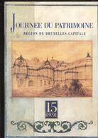 Journee Du Patrimoine Region De Bruxelles Capitale + Open Monumentendag - Libri, Riviste, Fumetti
