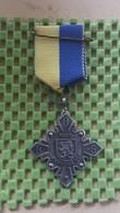 Medaille :Netherlands  - D.O.S Barchem 1969. / Vintage Medal - Walking Association - Nederland
