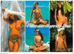 Polynésie Française-  (nu Nue Seins Nus)( Girls Of The South Seas Filles Des Mers Du Sud  TEVA SYLVAIN Tahiti  1461 - Polynésie Française