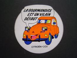 AUTOCOLLANT AUTOMOBILE Ancien : CITROEN 2 CV - Autocollants