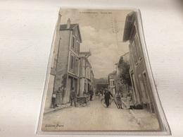 78 - CHAMBOURCY Grande Rue Animée écrite - Chambourcy