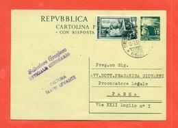 INTERI POSTALI-C142 - 6. 1946-.. Repubblica