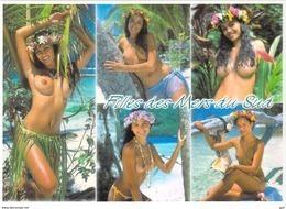 Polynésie Française-  (nu Nue Seins Nus)( Girls Of The South Seas Filles Des Mers Du Sud  TEVA SYLVAIN Tahiti 1488 - Polynésie Française