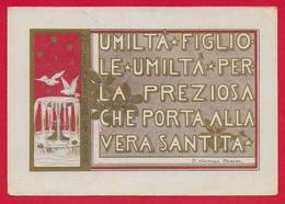 CARTOLINA VG ITALIA - Umiltà Perla Preziosa Che Porta Alla Santità - S. Vincenza GEROSA Suore Di Carità - 10 X 15 - 1959 - Santi