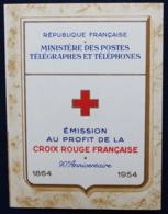 Carnet Croix Rouge 1954 Neuf - Rode Kruis