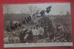 Cp Dijon Comite Ds Fetes Fete De La Mere Folle Des 23 Au 28 Mars 1935 - Dijon