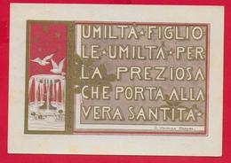 CARTOLINA VG ITALIA - Umiltà Perla Preziosa Che Porta Alla Santità - S. Vincenza GEROSA Suore Di Carità - 10 X 15 - 1961 - Santi