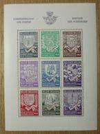 BELGIQUE - BF 10 Dentelé Neuf - Secours D'hiver - Blocs 1924-1960