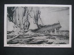 ILLUSTRATA MUSEO NAVALE LA SPEZIA PERRICONE COL SOMMERGIBILE U-BOOT SUBMARINE SILURA IL MAGNET NEL 1916 - Manovre