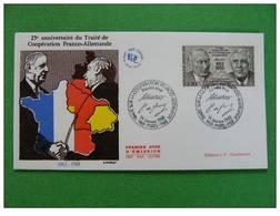 FDC De Gaulle Adenauer - De Gaulle (Général)