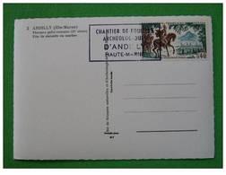 Carte Maximum Maxi Card Archéologie Archaeology Andilly Haute Marne - Ohne Zuordnung