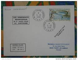 Courrier Posté à Bord D'un Navire Occasionnel - Covers & Documents