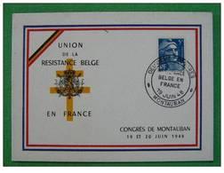 Union De La Résistance Belge En France Montauban - 2. Weltkrieg