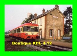 AL 281 - Autorail Caravelle X 4300 En Gare - La Taye - SAINT-GEORGES SUR EURE - Eure Et Loir - SNCF - Estaciones Con Trenes