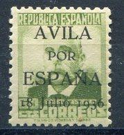 PATRIOTICOS   Avila  Nº  5   Ch - 522 - Emisiones Nacionalistas