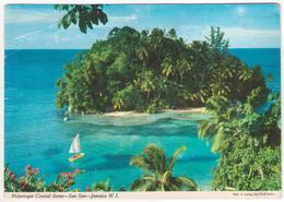 °°° 13745 - JAMAICA - PICTURESQUE COASTAL SCENE - SAN SAN - 1982 °°° - Giamaica