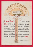 CARTOLINA VG ITALIA - Regina Verginum - S. Bartolomea CAPITANIO - Suore Di Carità - 10 X 15 - 196? - Santi
