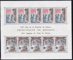 1982, Monaco, 1526/27 Block 19, Europa: Historische Ereignisse. MNH ** - Blocks & Sheetlets