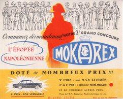 REF EX2 : Buvard MOKAREX Bonaparte Simca Versailles - Autres