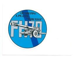 """131° Gruppo  A.PE.CAM """" VERCELLI"""" -  Adesivo Su Cartolina - Altri"""