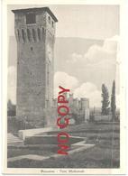 Bazzano, Bologna, 1930, Torre Medioevale, Insolito Formato 10,7 X 15. - Bologna