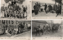 GUERRE 14/18-SPAHIS-MILITAIRES ALGERIENS-AOCAINS-ZOUAVES-LOT DE 11 CARTES - War 1914-18