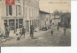 NOMENY   Rue De La Porte Basse 1918 - Nomeny