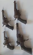 LOT REVOLVER A BROCHE - Armas De Colección
