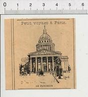Presse 1899 Petite Gravure De Paris Le Panthéon 51D24 - Non Classificati