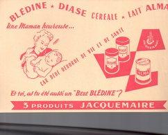 REF EX2 : Buvard Blédine Bébé Jacquemaire - Carte Assorbenti