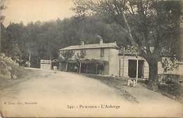 - Dpts Div -ref-AL622- Bouches Du Rhône - Pichauris - L Auberge - Auberges - Restaurants - Carte Bon Etat - - Autres Communes