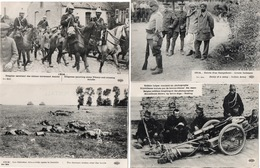 GUERRE 14/18-LOT DE 29 CARTES-INFANTERIE-ARTILLERIE-DRAGONS-MARINS-DIVERS---- - Guerre 1914-18