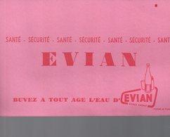 REF EX2 : Buvard Evian - Carte Assorbenti