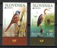 Slovenia 2019. EUROPA CEPT, Animals / Birds Nice Set MNH (**) - Slowenien