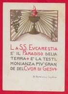 CARTOLINA VG ITALIA - La SS. Eucarestia è Il Paradiso - S. Bartolomea CAPITANIO Suore Di Carità - 10 X 15 - 1975 TASSATA - Santi