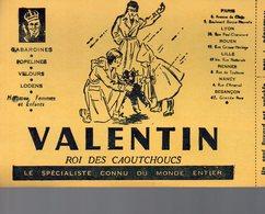 REF EX2 : Buvard Valentin Caoutchoucs Besancon Nancy Lyon Lille - Autres