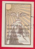 CARTOLINA VG ITALIA - Vi Auguro La Più Sublime Santità - S. Bartolomea CAPITANIO - Suore Di Carità - 10 X 15 - 1969 - Santi