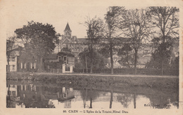 CAEN : Vue Sur L'Hôtel Dieu - Caen