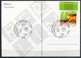 "CPM  Color Photo AK Germany Berlin 2012""Olympiastadion,Berlin ""mit Mi.Nr.2930 U.SST""Berlin "" 1 Karte - Fussball"