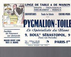 REF EX2 : Buvard Pygmalion Toile Boulevard Sebastopol Paris Imagerie Pellerin Epinal - Autres
