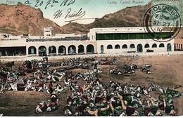 Asie > Aden. - Camel Market , Camp. (27- 9 - 1910) DEPART COLOMBO CEYLAN - Yemen