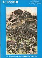 L'Essor  N°spécial 141 La Guerre 1914-1918 Dans Les Vosges  Schirmeck  La Broque - Geschichte