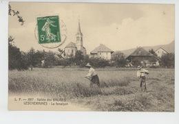 Vallée Des Bauges - LESCHERAINES - La Fenaison - Autres Communes