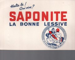 REF EX2 : Buvard Saponite Lessive Napoleon Bonaparte - Altri