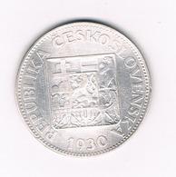 10  KORUN 1930  TSJECHOSLOWAKIJE /6315/ - Tchécoslovaquie